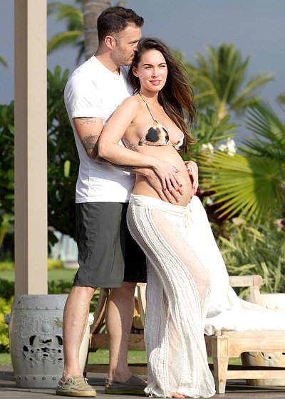 Megan Fox Pregnant Celebrities