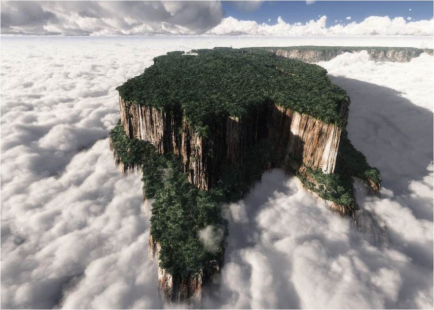 Monte Roraima - Venezuela Mysterious Places