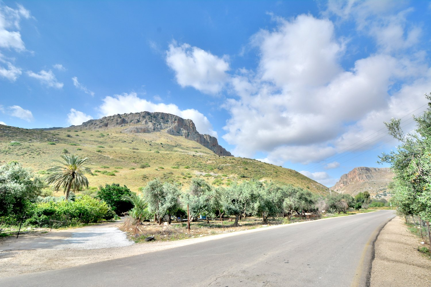 Mountain Arbel At Galilee Beautiful Israel