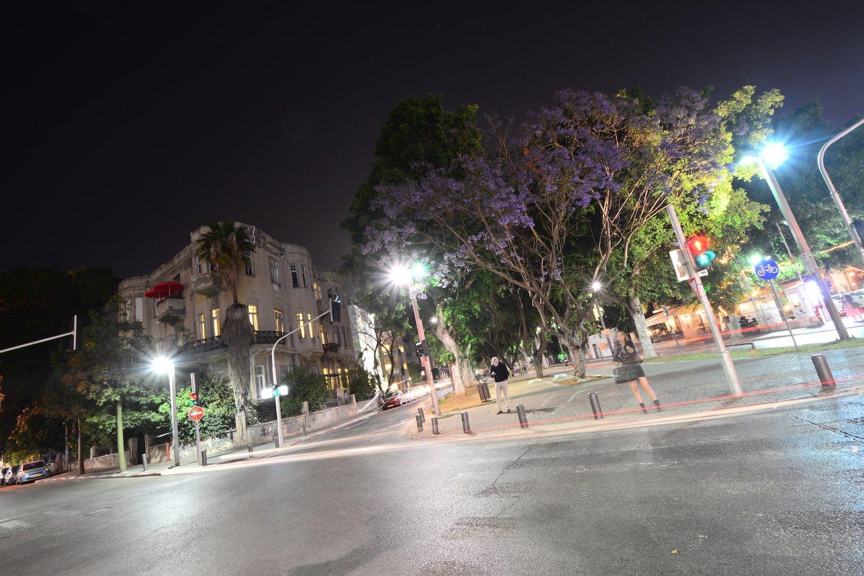 Night life of Tel Aviv Beautiful Israel