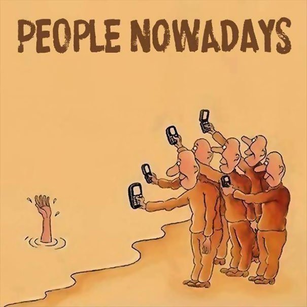 People not saved from danger but photography is a must Smartphone Addiction