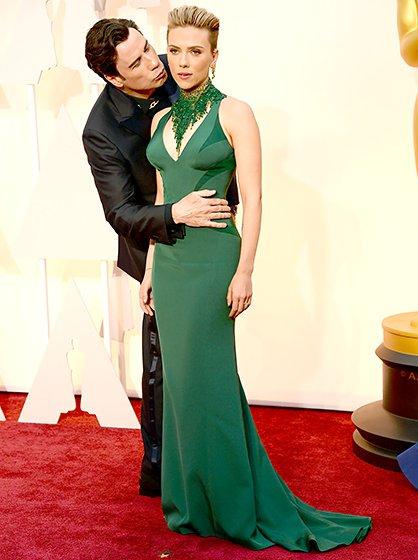 Scarlett Johansson and John Travolta Celebrity Spoilers