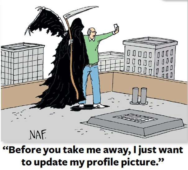 Selfie with the Reaper should be must!! Smartphone Addiction