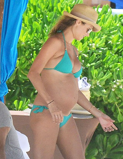Stacy Keibler Pregnant Celebrities