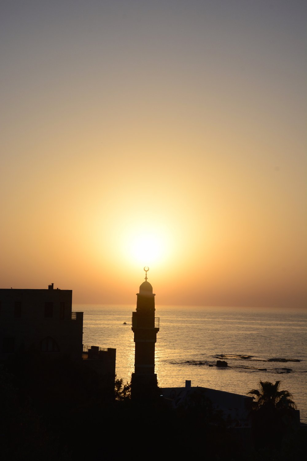 Sunset in Jaffa Beautiful Israel