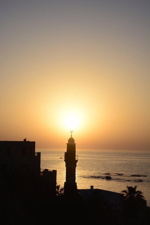 Sunset in Jaffa Beautiful Israel
