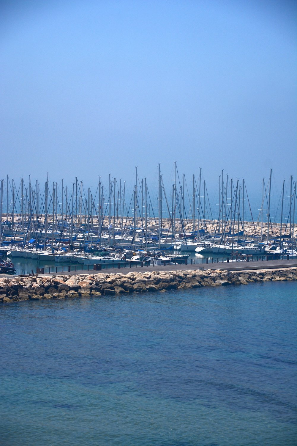 Tel Aviv Marina Beautiful Israel