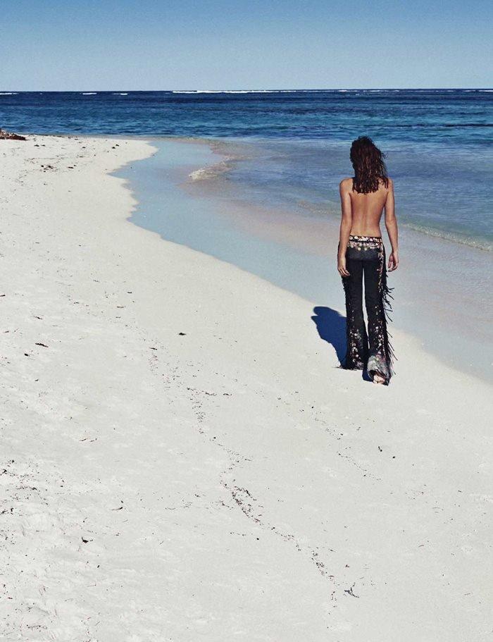Alyssa Miller Beach Back