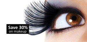 save 30 on makeup eyes
