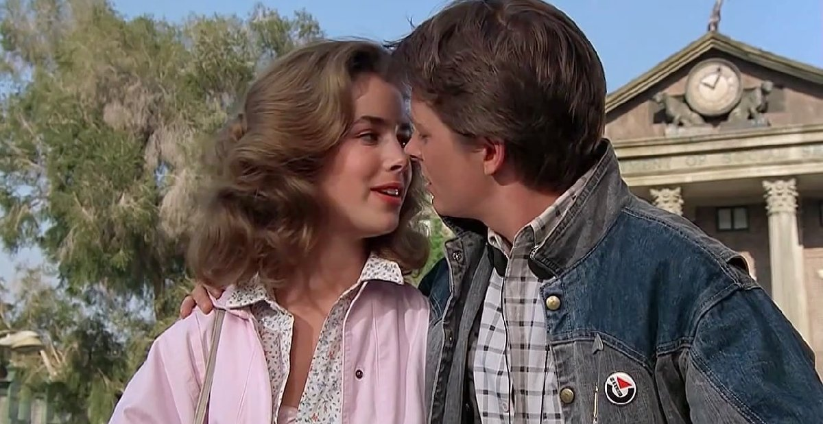 Back to the Future - Facts Secrets and Behind the Scenes 10 Kiss