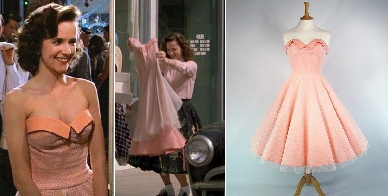 Back to the Future - Facts Secrets and Behind the Scenes 22 Lorain Baines Dress