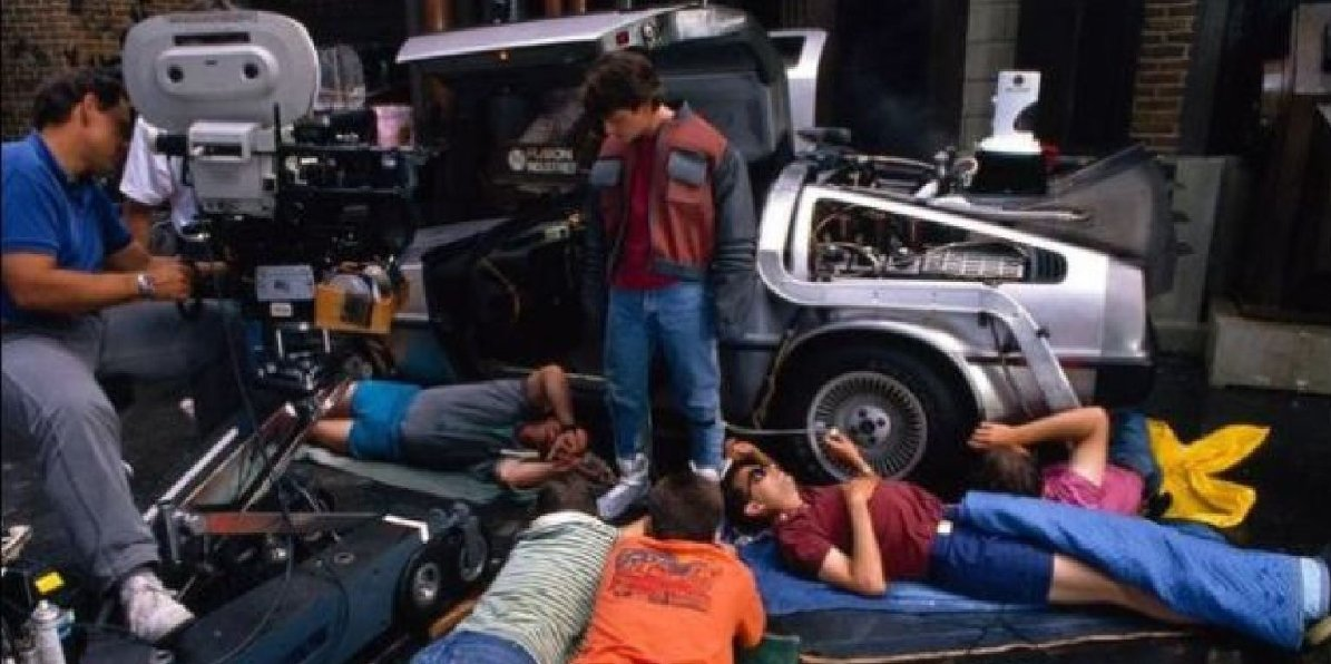 Back to the Future - Facts Secrets and Behind the Scenes 3 DeLorean