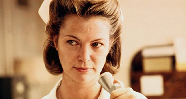 Greatest Female Characters 49 Nurse Ratched - One Flew Over The Cuckoo's Nest