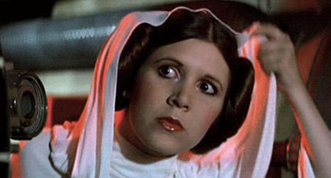 Greatest Female Characters 5 Princess Leia - Star Wards