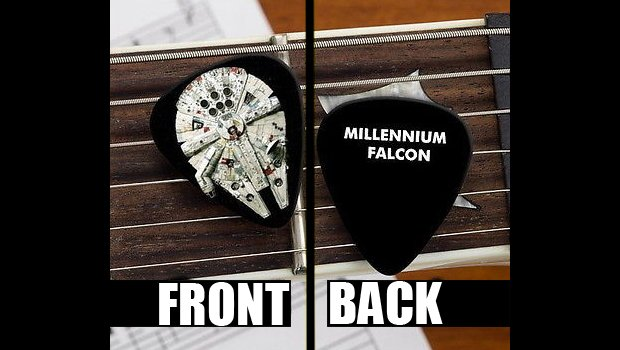 Star Wars Gifts 16 Millennium Falcon Guitar Pick