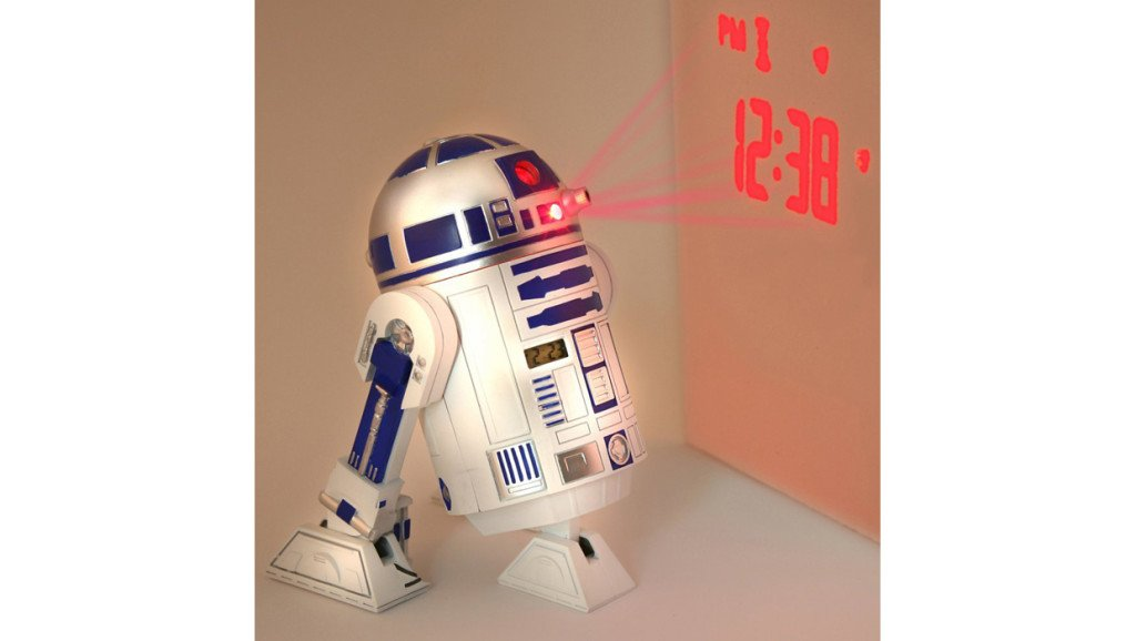 Star Wars Gifts 29 R2-D2 projecting clock