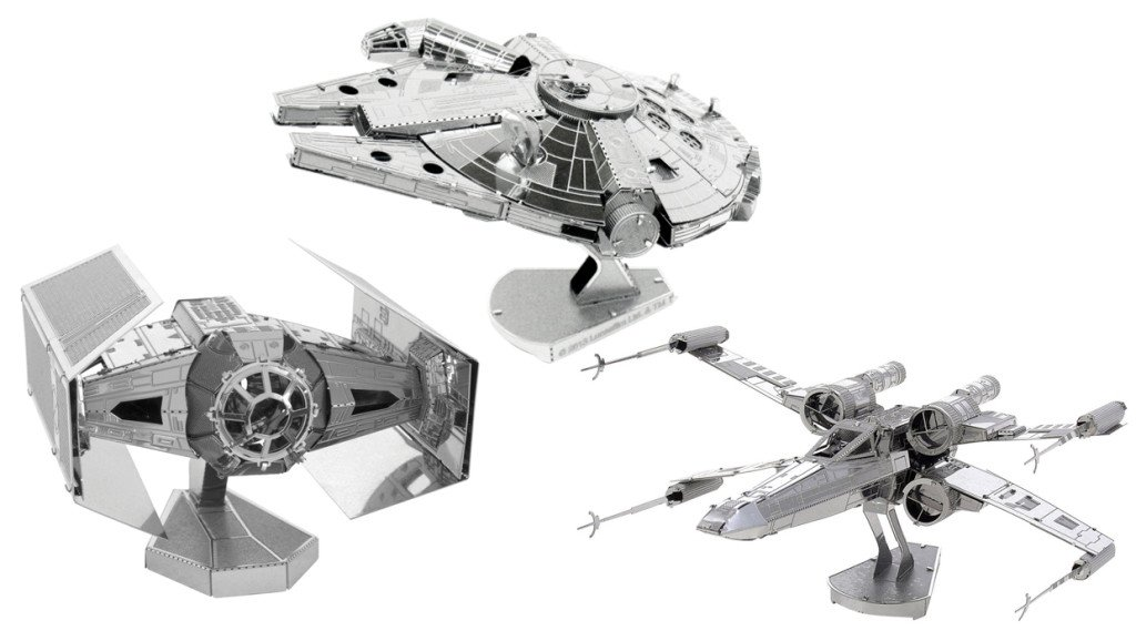 Star Wars Gifts 35 Mini metal spaceships