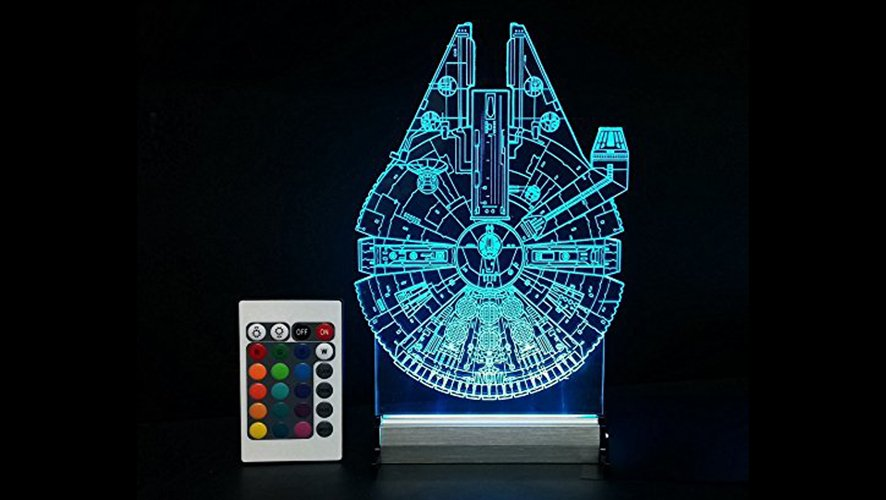 Star Wars Gifts 4 LED Millennium Falcon