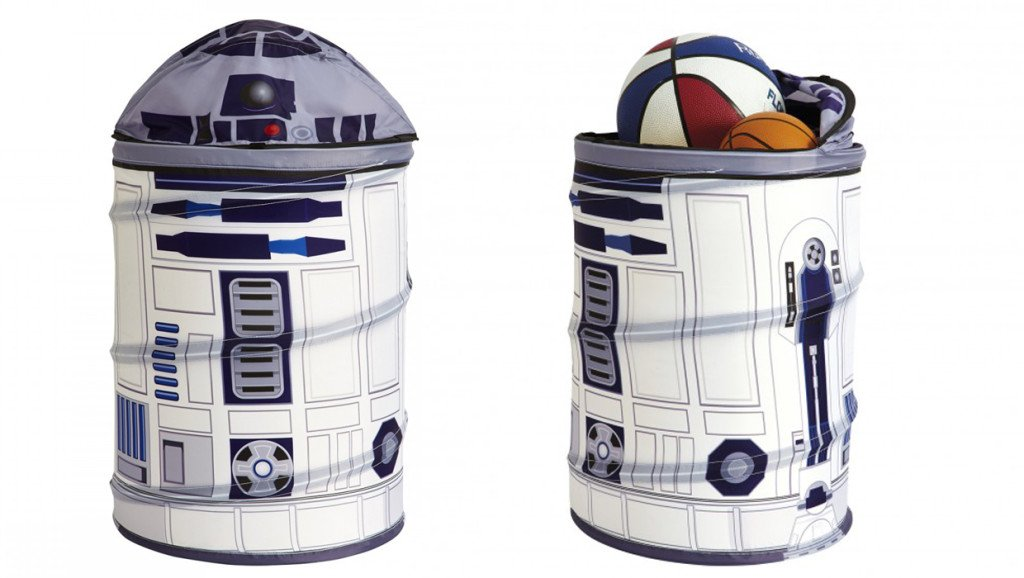 Star Wars Gifts 40 R2-D2 pop-up storage bin