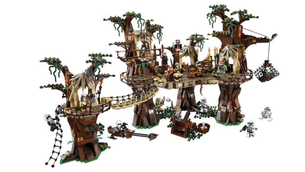 Star Wars Gifts 42 Lego Ewok Village