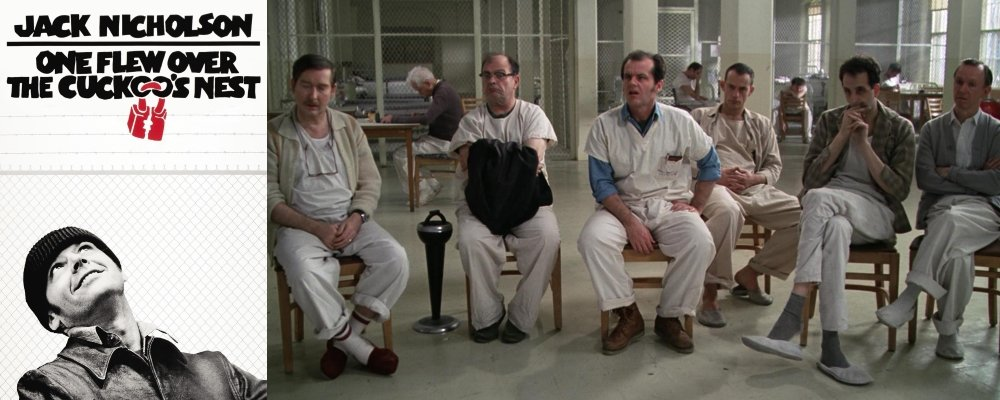 Best 100 Movies Ever - 15 One Flew Over the Cuckoos Nest