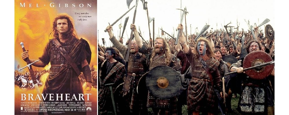 Best 100 Movies Ever 78 - Braveheart
