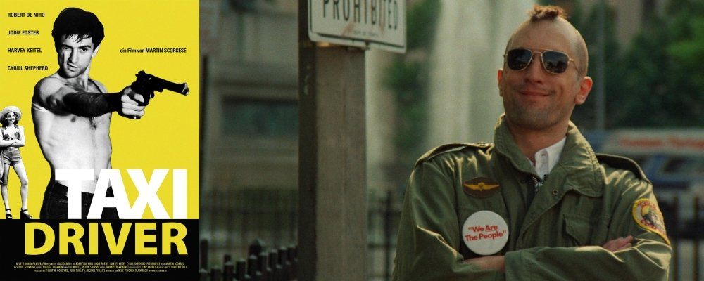 Best 100 Movies Ever 81 - Taxi Driver Poster