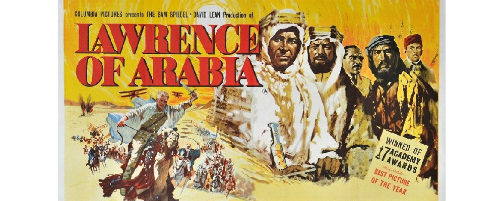 Best 100 Movies Ever 85 - Lawrence of Arabia