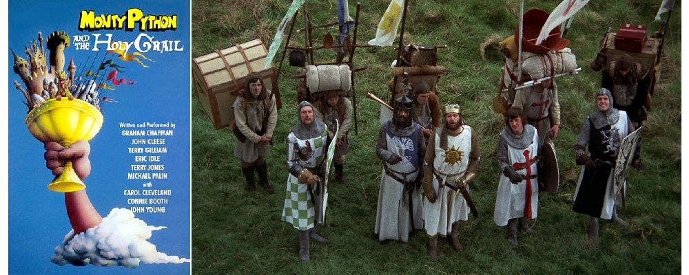 Best 100 Movies Ever 92 - Monty Python and the Holy Grail Movie