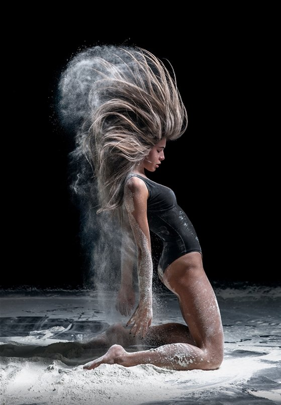 Dance Photography 5b Beautiful Hair Dust