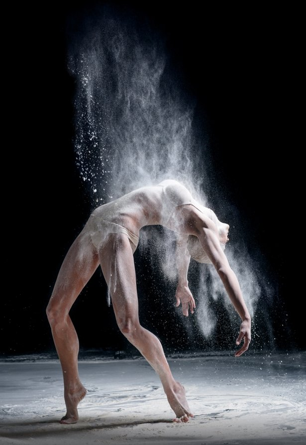 Dancer Photography 6 Beautiful Dust Falling