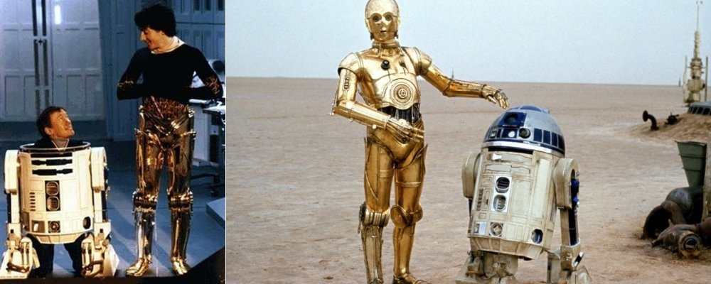 Star Wars Secrets - A New Hope - C3PO and R2D2