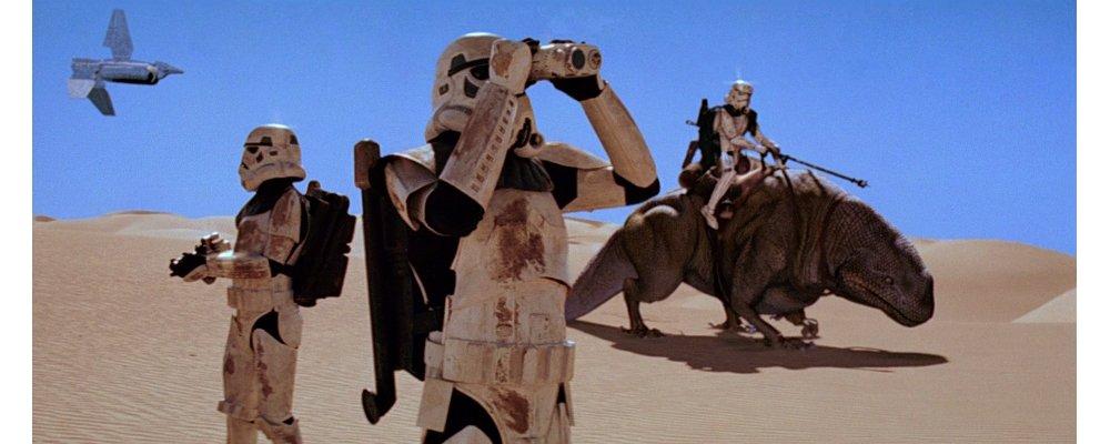 Star Wars Secrets - A New Hope - Desert Storm Troopers