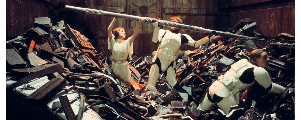 Star Wars Secrets - A New Hope - Trash Compactor