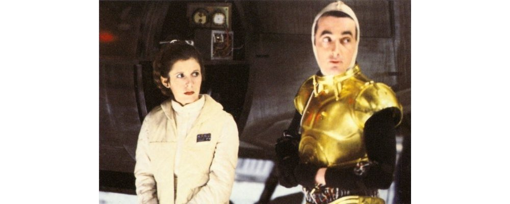 Star Wars Secrets - The Empire Strikes Back - Behind the Scenes Droids C3PO Leia