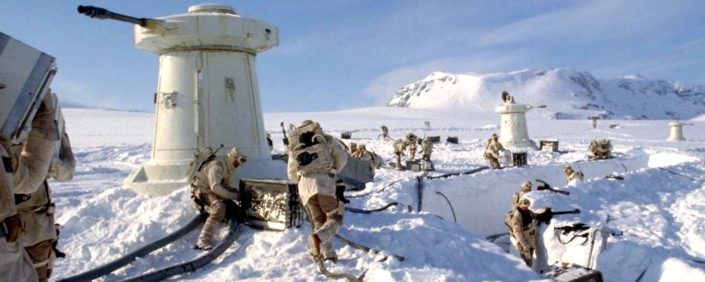 Star Wars Secrets - The Empire Strikes Back - Behind the Scenes Hoth