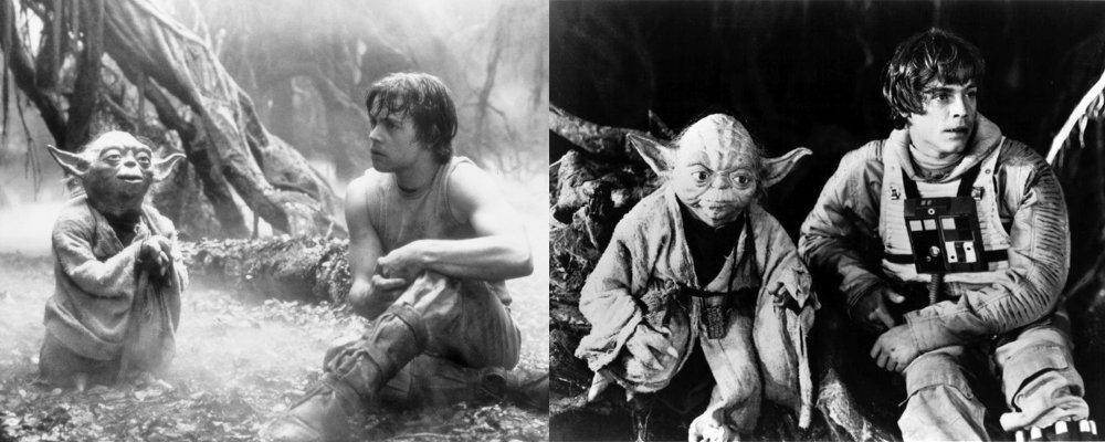 Star Wars Secrets - The Empire Strikes Back - Behind the Scenes Quotes Yoda Luke