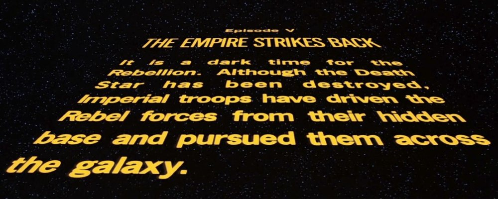 Star Wars Secrets - The Empire Strikes Back - Opening Crawl