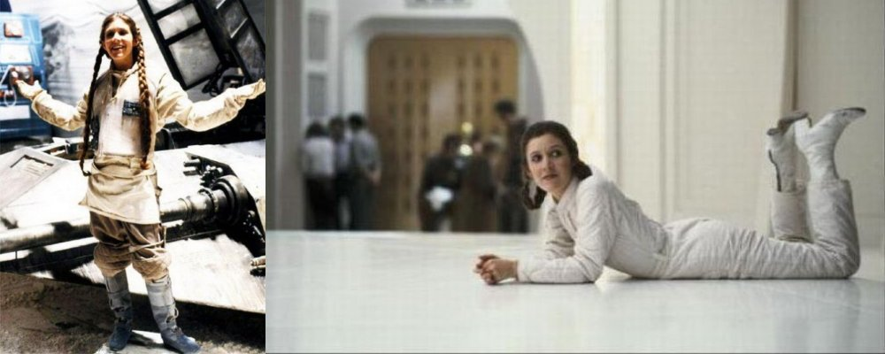 Star Wars Secrets - The Empire Strikes Back - Princess Leia Behind the Scenes