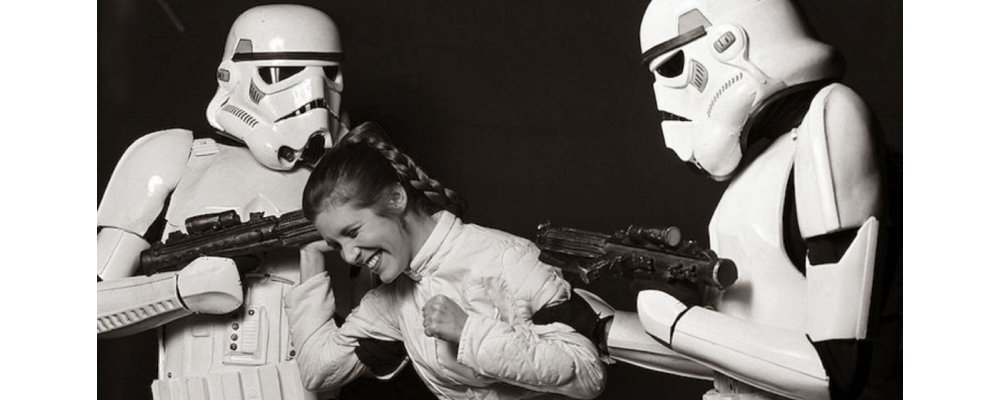 Star Wars Secrets - The Empire Strikes Back - Princess Leia and Stormtroopers