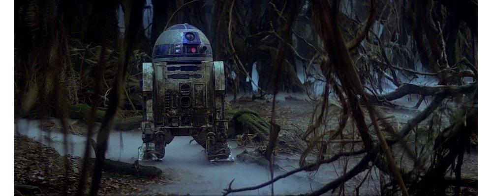Star Wars Secrets - The Empire Strikes Back - R2D2 Mud Pool
