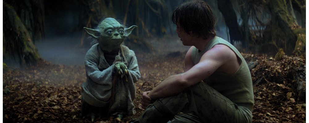 Star Wars Secrets - The Empire Strikes Back - Yoda and Luke