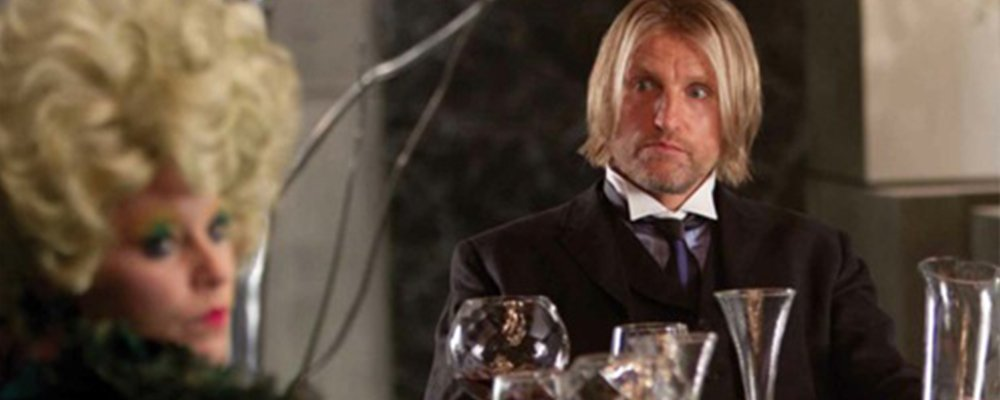 The Hunger Games Revealed - Haymitch Looks at Effie