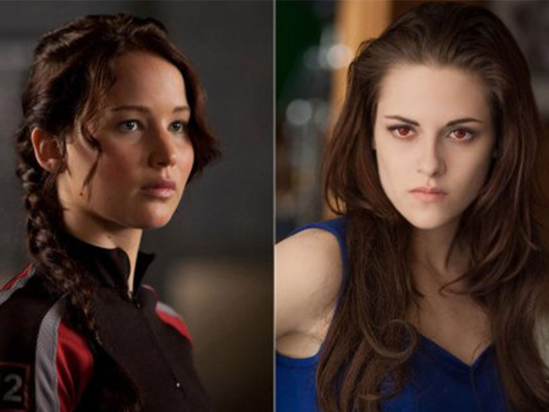 The Hunger Games Revealed - Katniss and Bella Swan