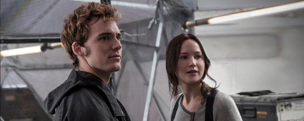 The Hunger Games - Finnick and Katniss