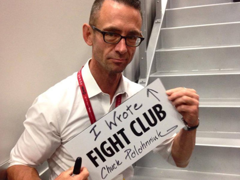 Fight Club Surprising Stories Frm Behind the Scenes - Chuck the Writer