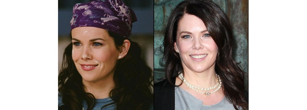 Gilmore Girls Fun Facts - Then and Now 1 - Lauren Graham