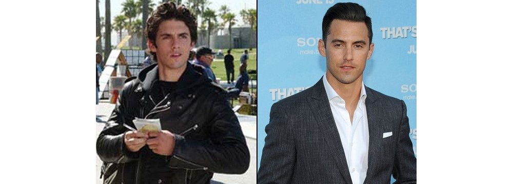 Gilmore Girls Fun Facts - Then and Now 11 - Milo Ventimiglia