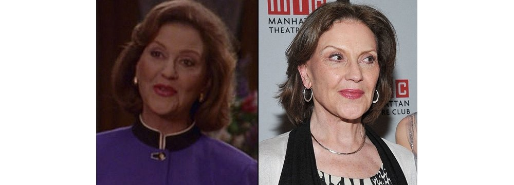 Gilmore Girls Fun Facts - Then and Now 6 - Kelly Bishop