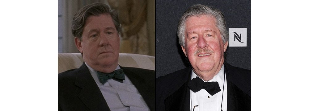Gilmore Girls Fun Facts - Then and Now 7 - Edward Herrmann